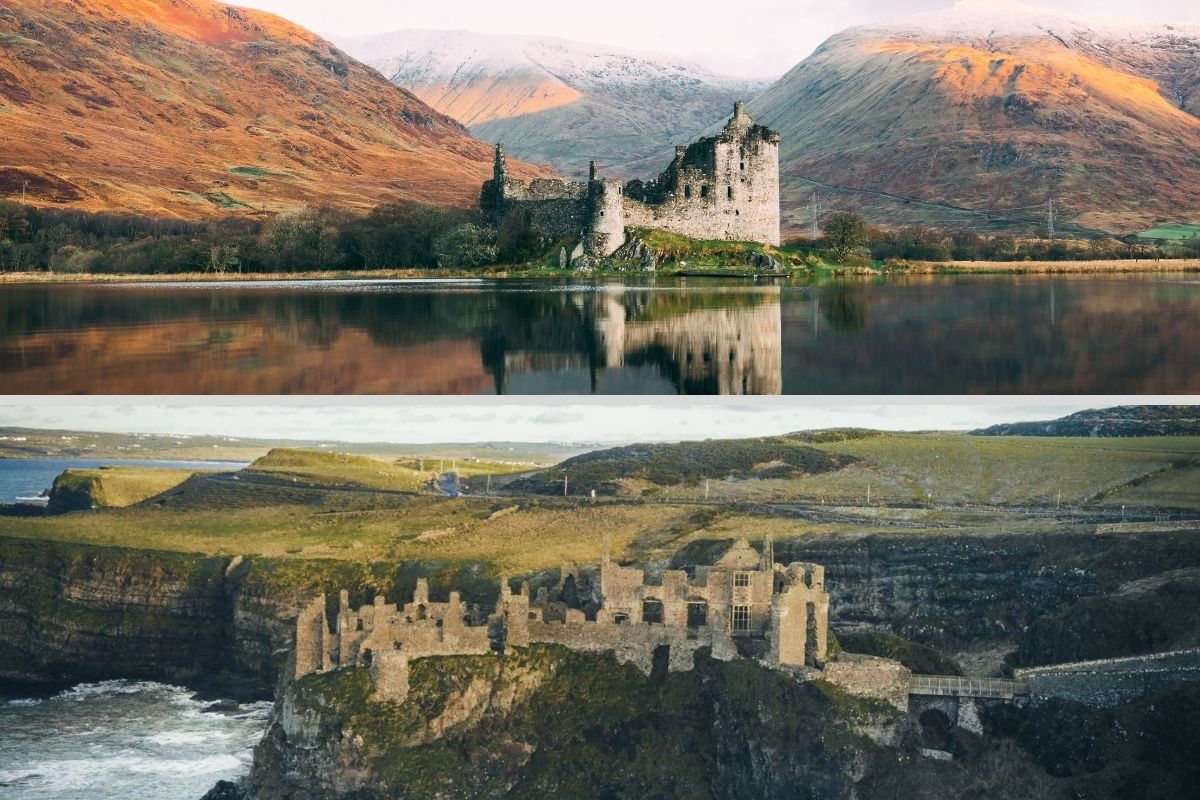difference between scotland and ireland